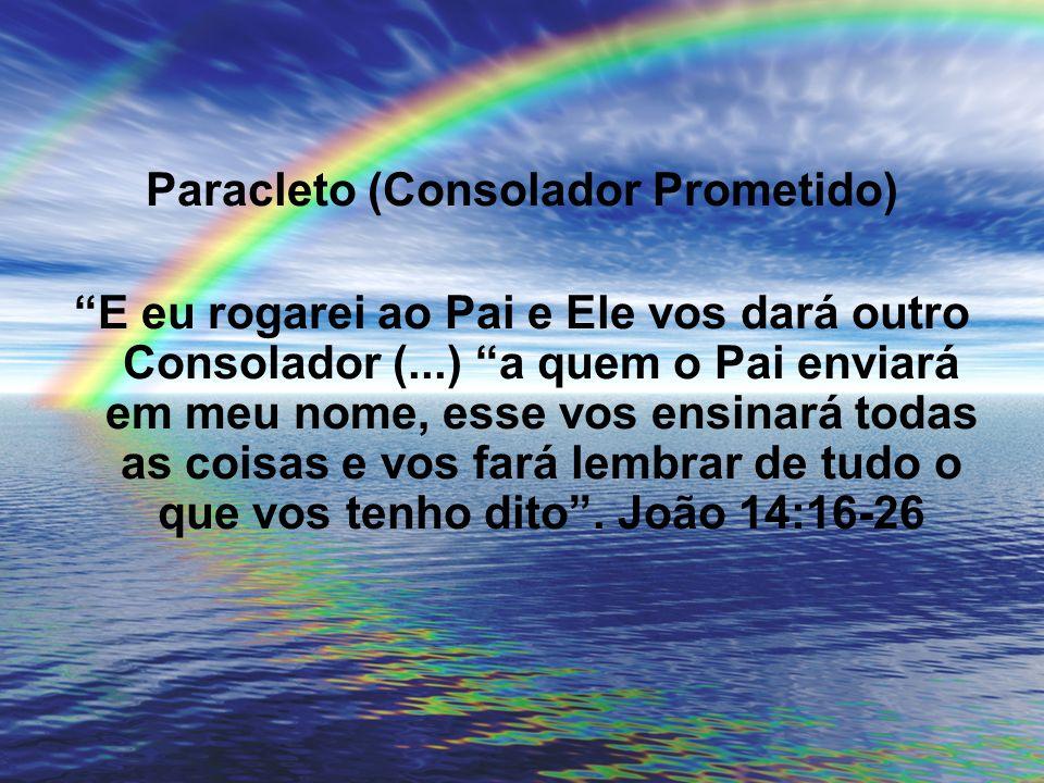 Paracleto (Consolador Prometido)