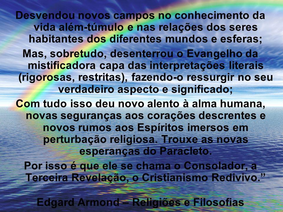 Edgard Armond – Religiões e Filosofias