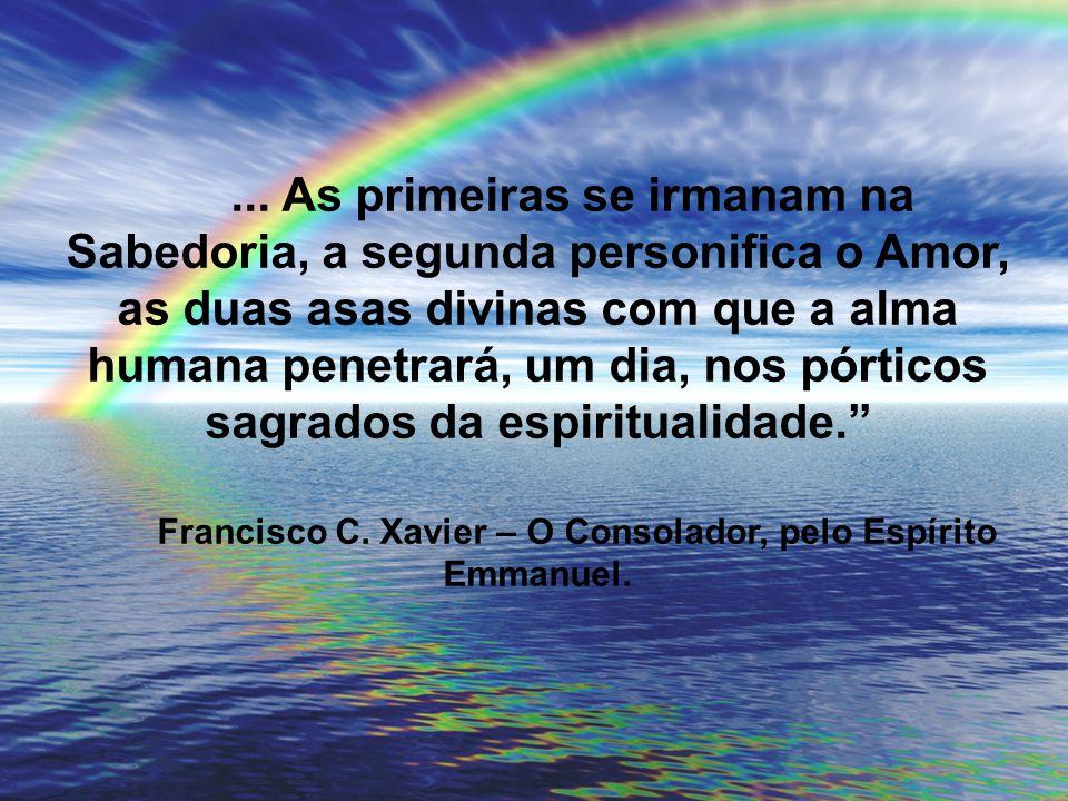 Francisco C. Xavier – O Consolador, pelo Espírito Emmanuel.