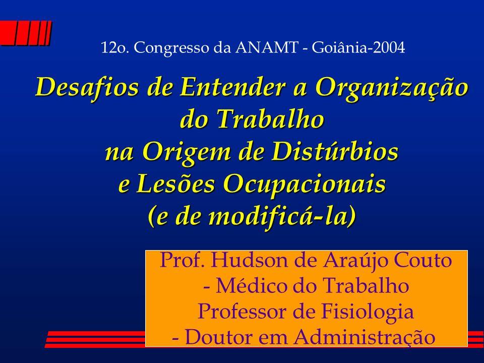 12o. Congresso da ANAMT - Goiânia-2004