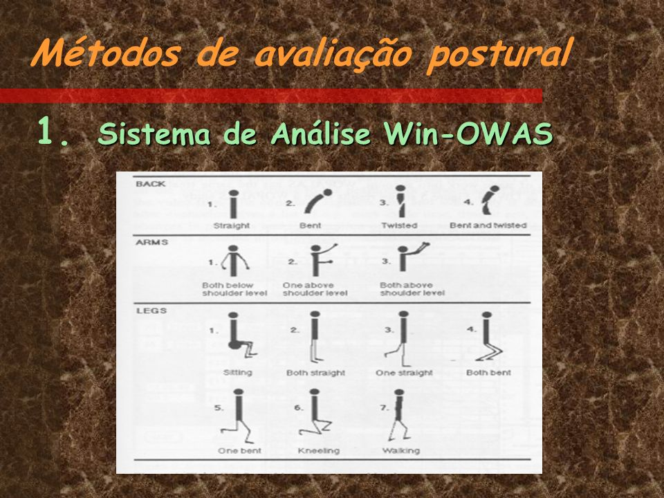 Métodos de avaliação postural