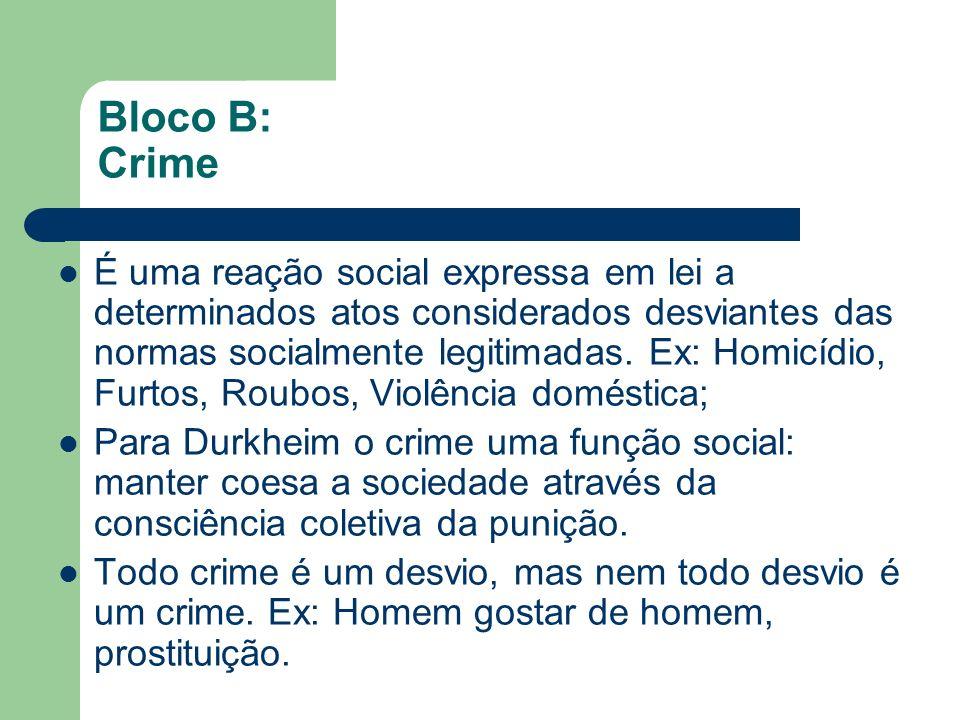 Bloco B: Crime