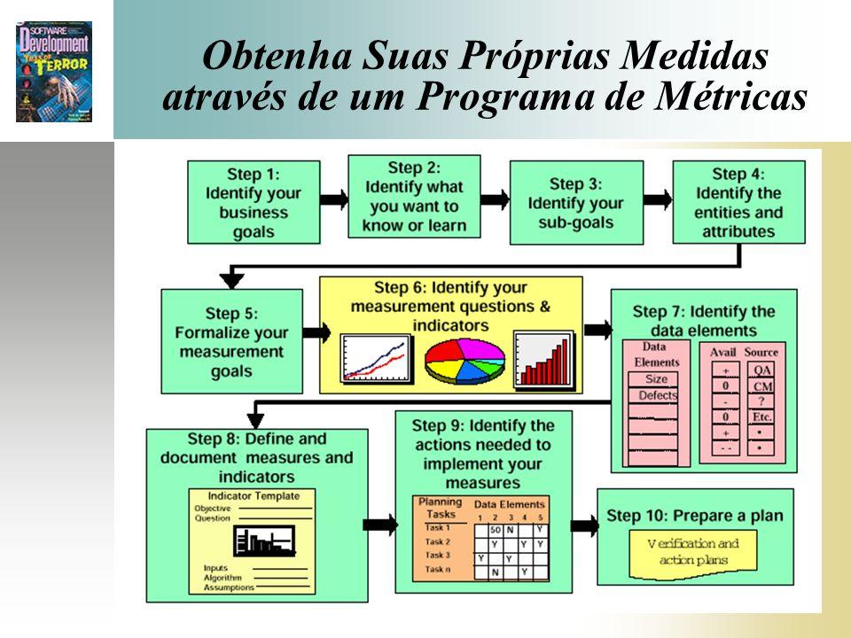 Obtenha Suas Próprias Medidas através de um Programa de Métricas