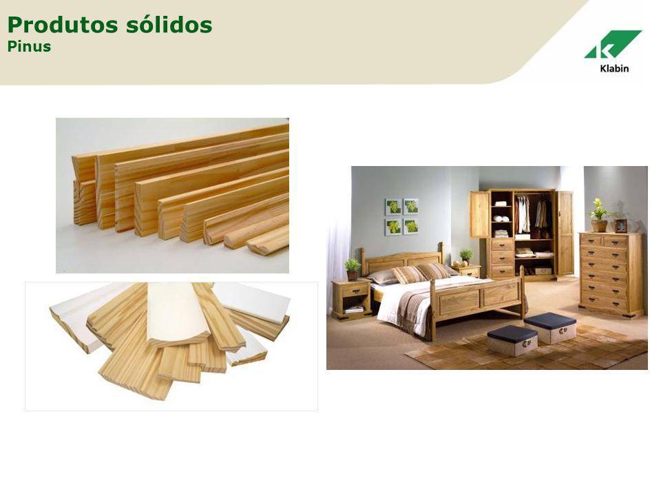 Produtos sólidos Pinus
