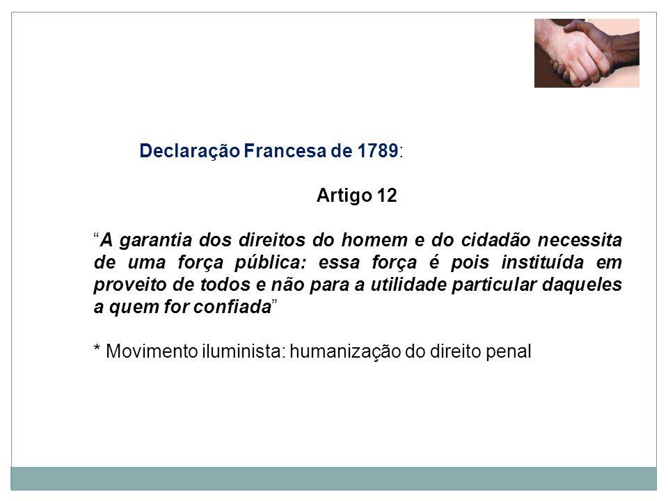 Declaração Francesa de 1789: