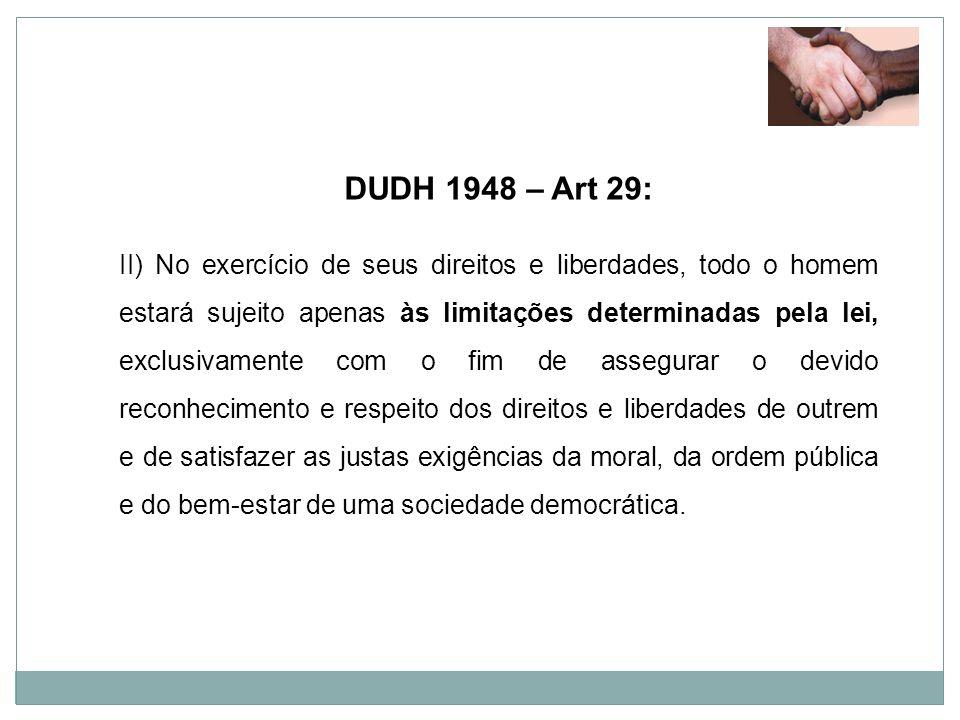 DUDH 1948 – Art 29: