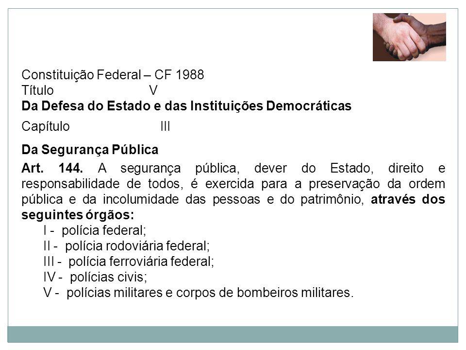 Constituição Federal – CF 1988