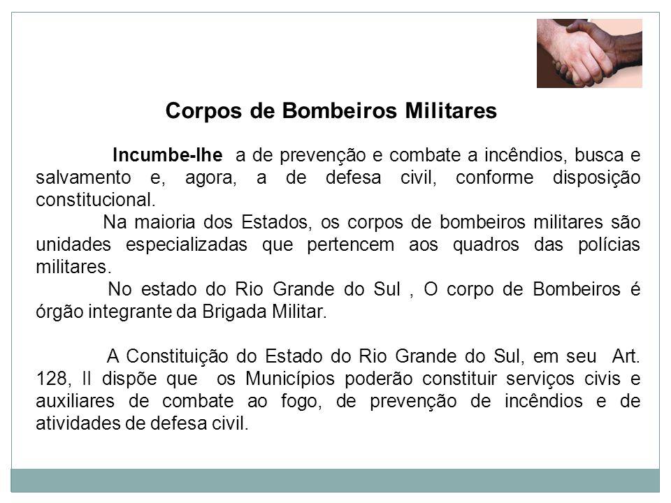 Corpos de Bombeiros Militares