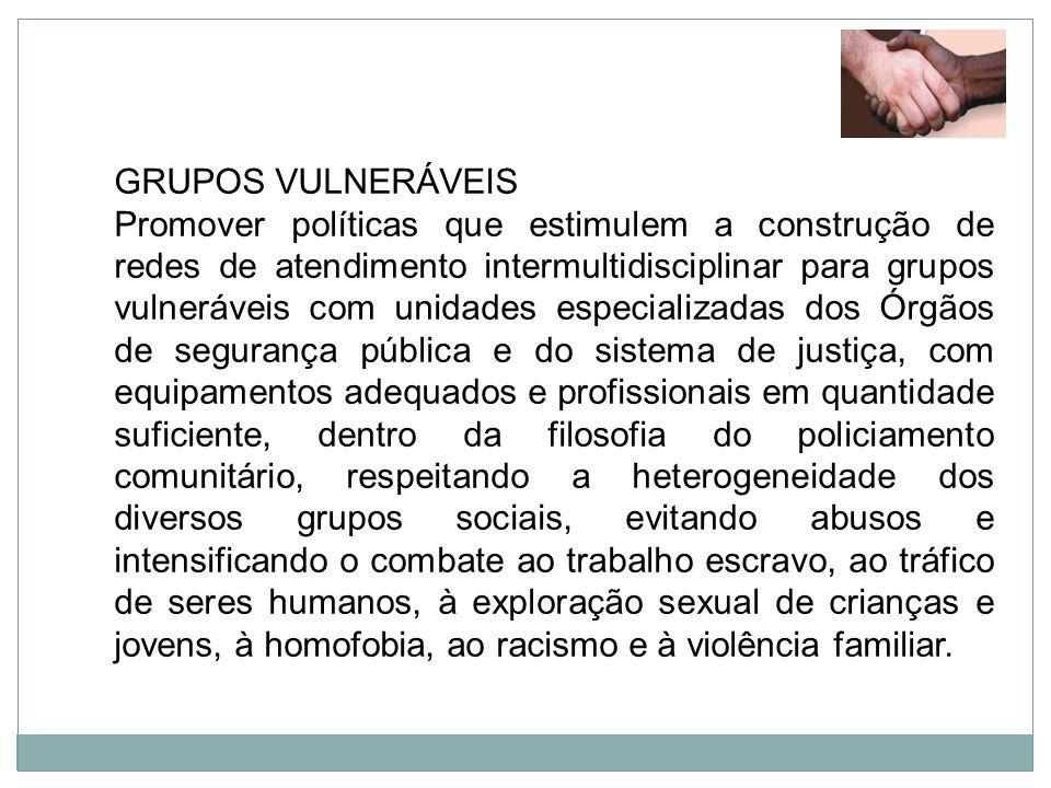GRUPOS VULNERÁVEIS
