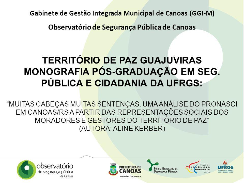 TERRITÓRIO DE PAZ GUAJUVIRAS