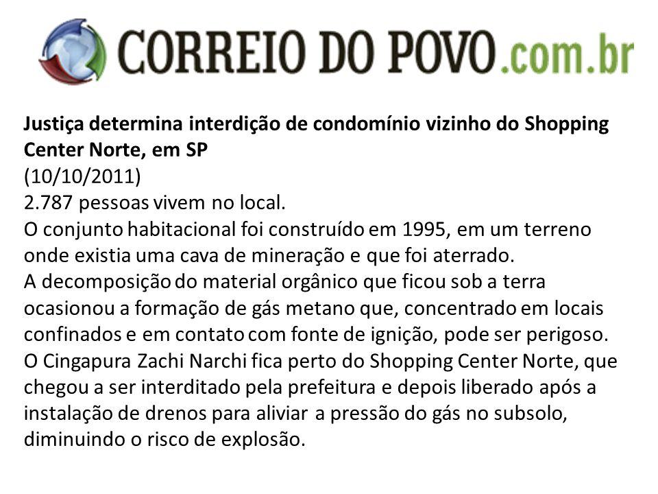 Justiça determina interdição de condomínio vizinho do Shopping Center Norte, em SP