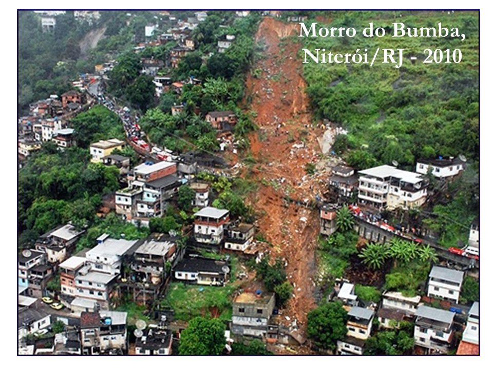 Morro do Bumba, Niterói/RJ - 2010