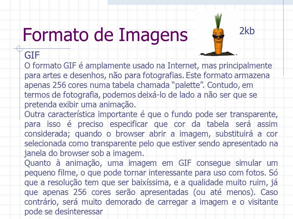 Formato de Imagens 2kb GIF