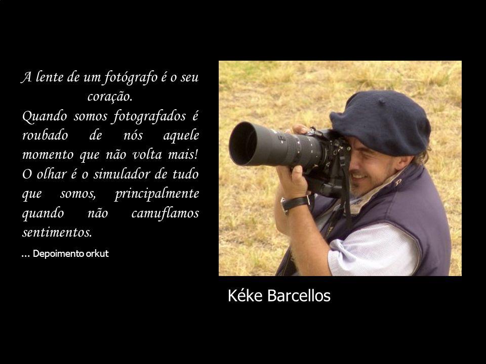 A lente de um fotógrafo é o seu coração