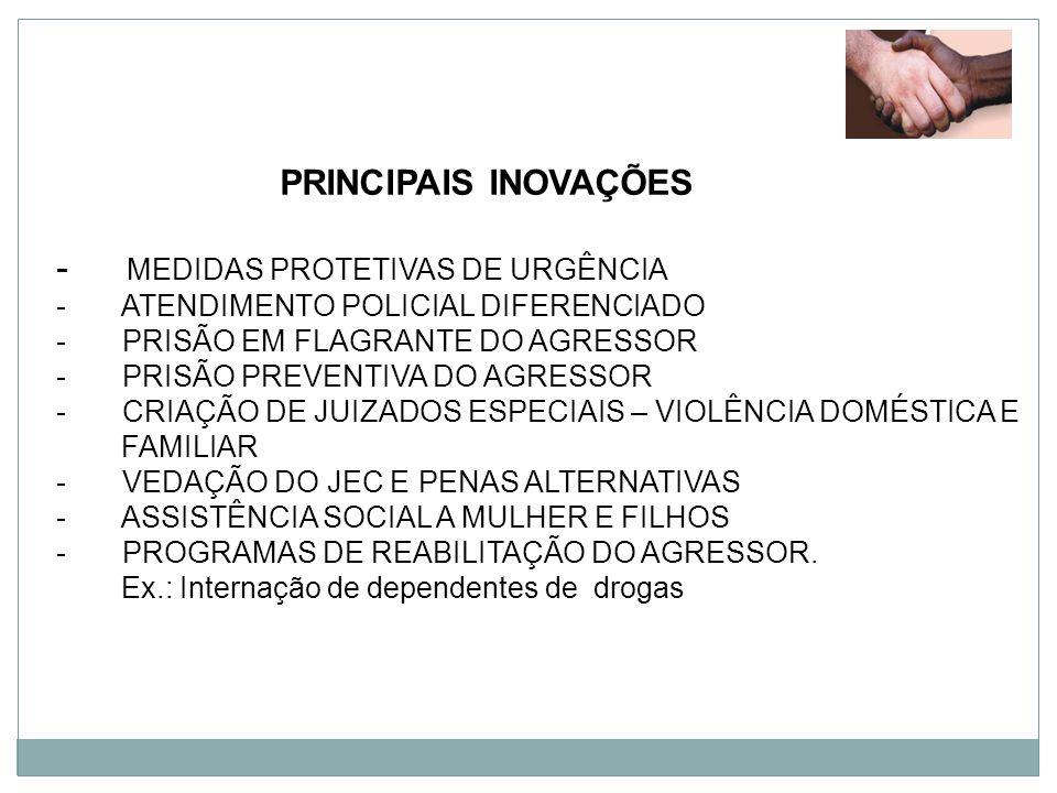 MEDIDAS PROTETIVAS DE URGÊNCIA