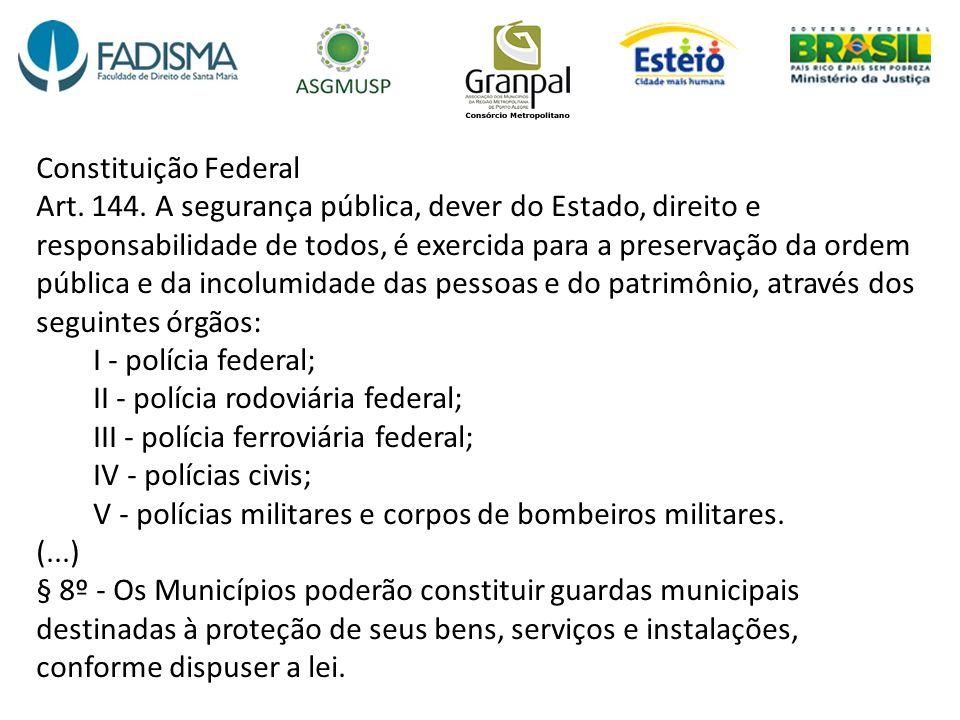 Constituição Federal Art. 144