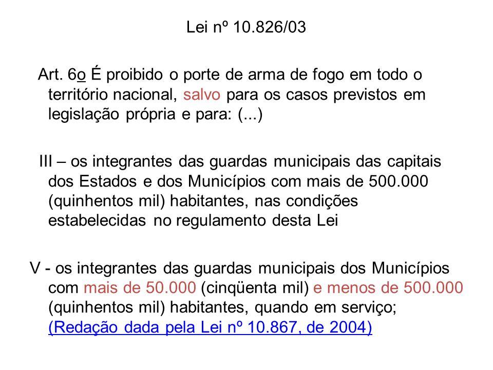 Lei nº 10.826/03