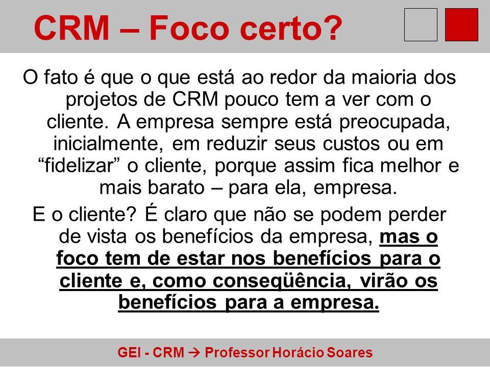 CRM – Foco certo