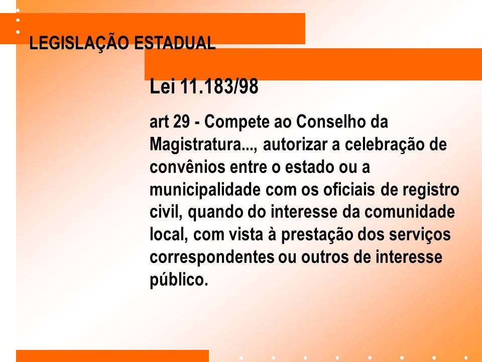Lei 11.183/98 LEGISLAÇÃO ESTADUAL