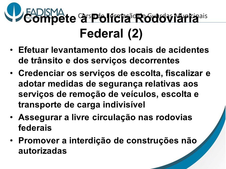 Compete à Polícia Rodoviária Federal (2)