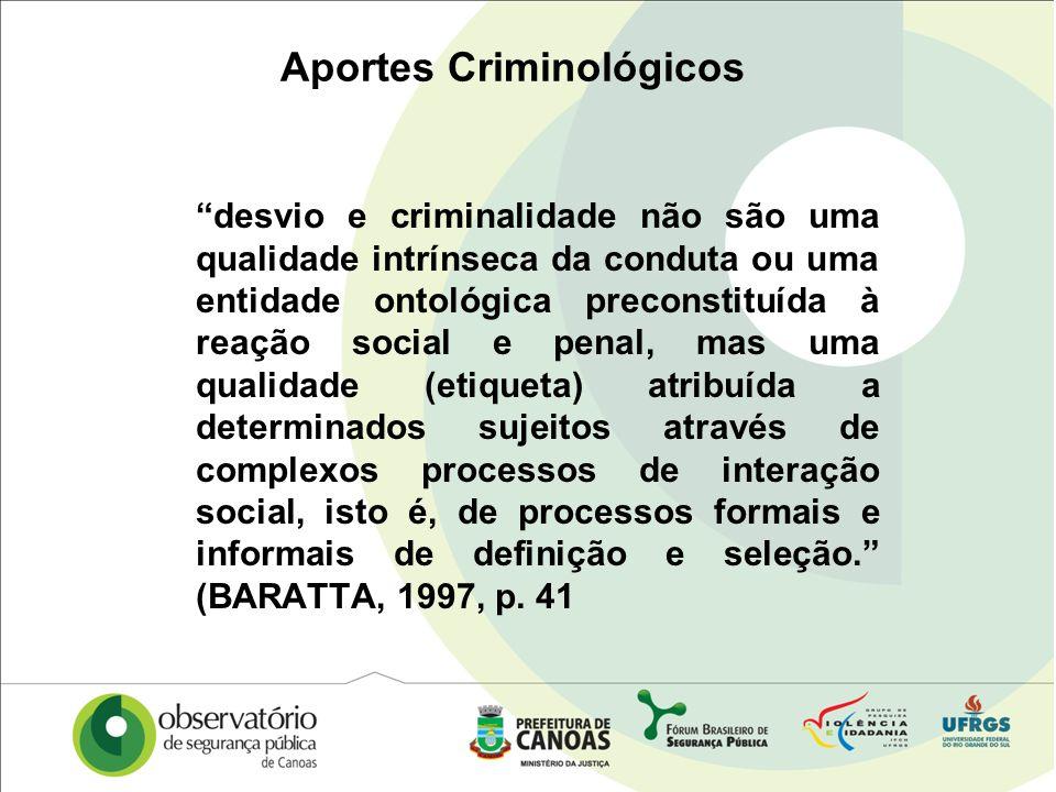 Aportes Criminológicos