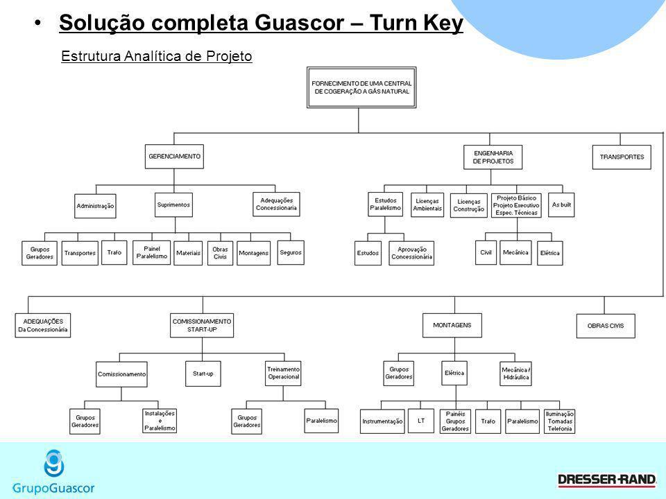 Solução completa Guascor – Turn Key