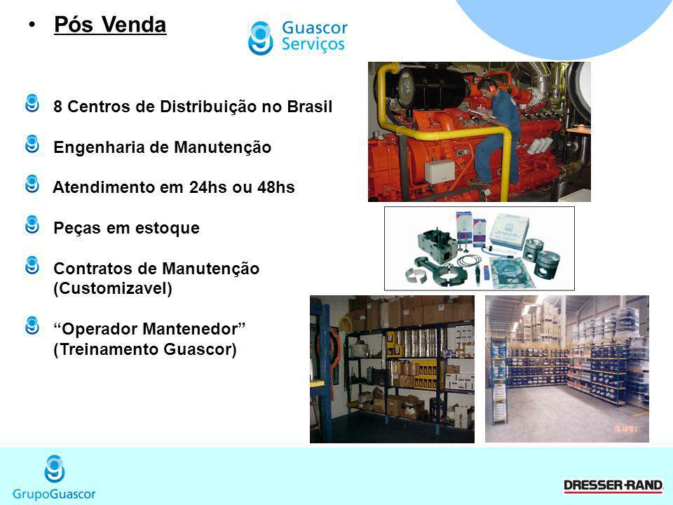 Pós Venda 8 Centros de Distribuição no Brasil Engenharia de Manutenção