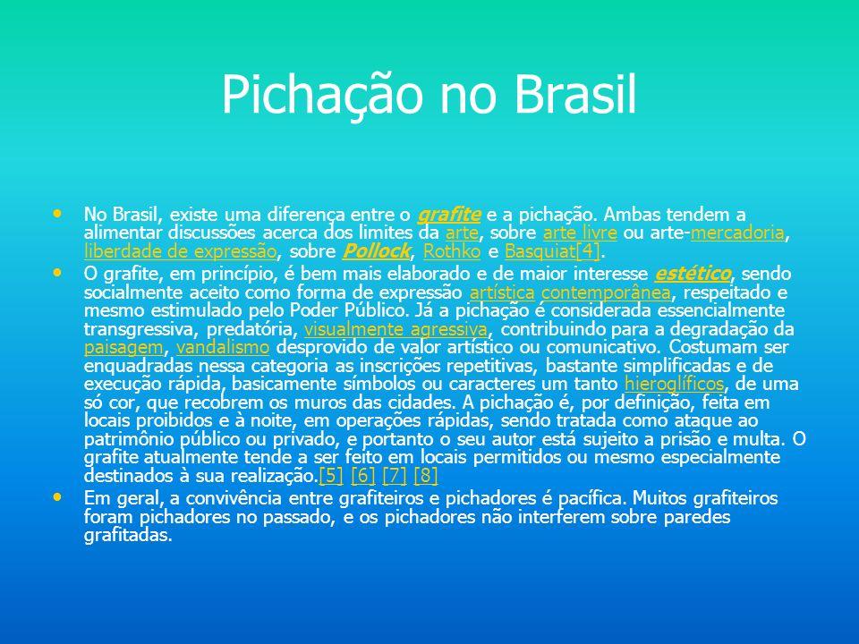Pichação no Brasil