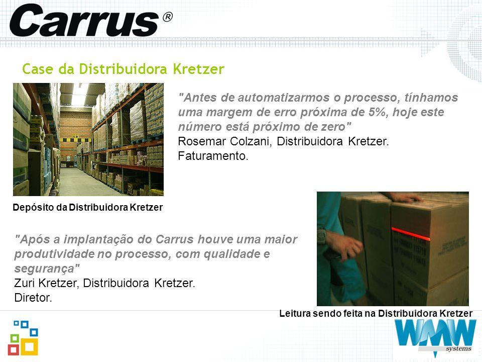 Case da Distribuidora Kretzer