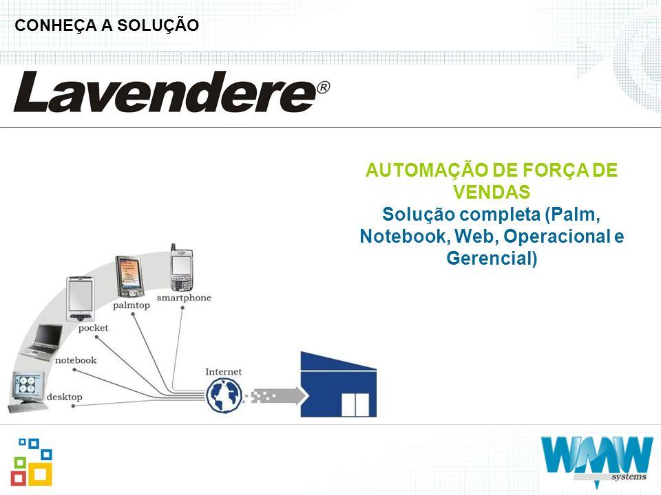 AUTOMAÇÃO DE FORÇA DE VENDAS