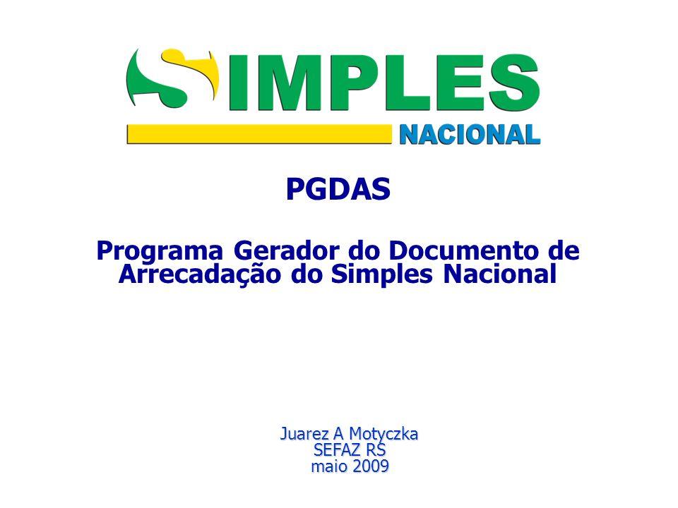 Programa Gerador do Documento de Arrecadação do Simples Nacional