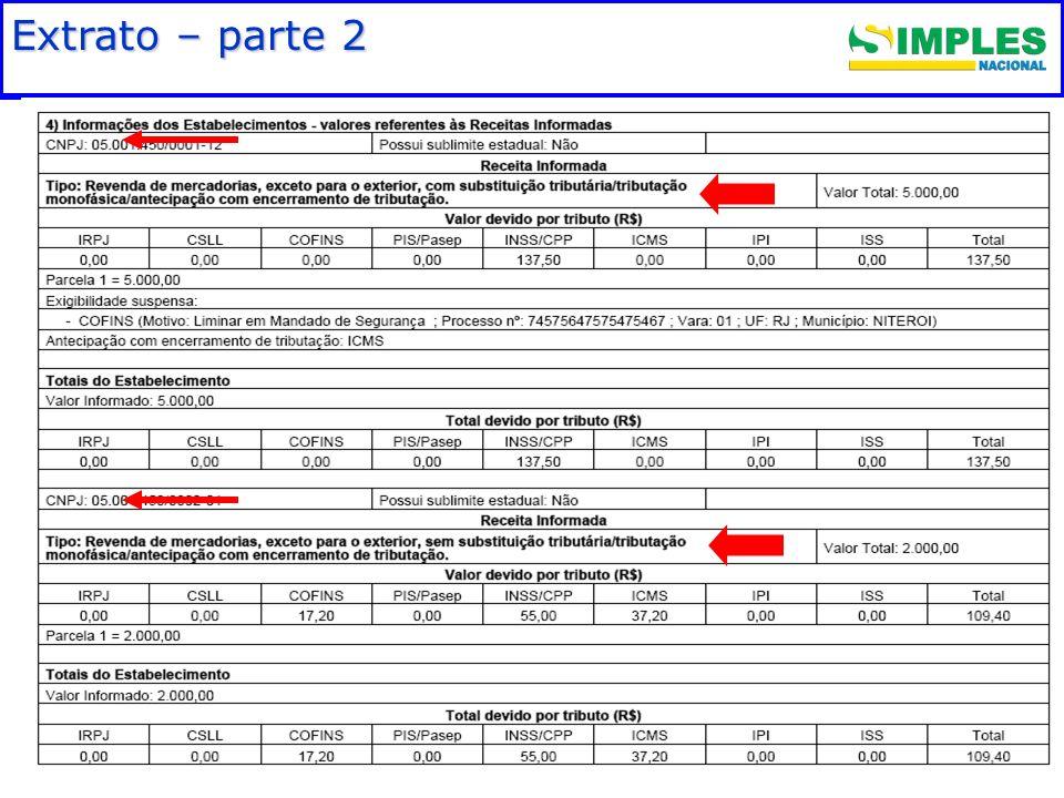 Fundamentação legal Extrato – parte 2 00:00: