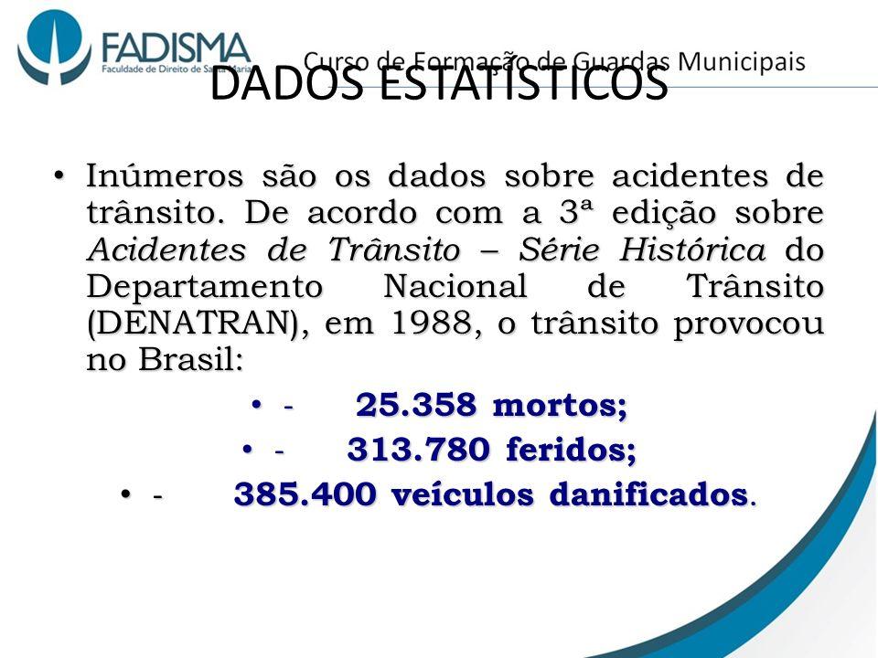 - 385.400 veículos danificados.