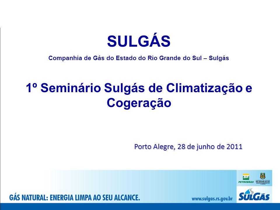 SULGÁS 1º Seminário Sulgás de Climatização e Cogeração