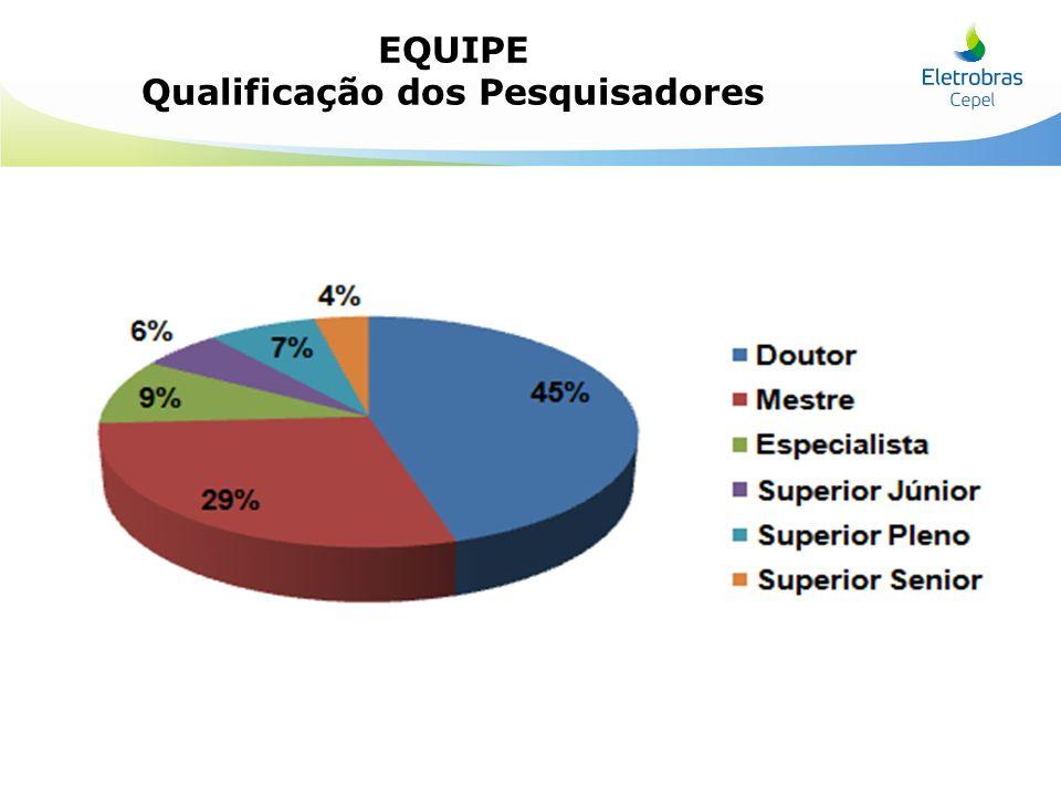 Qualificação dos Pesquisadores