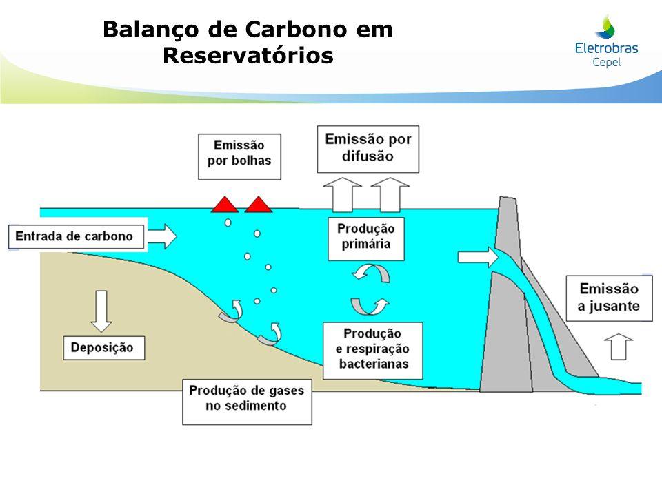 Balanço de Carbono em Reservatórios