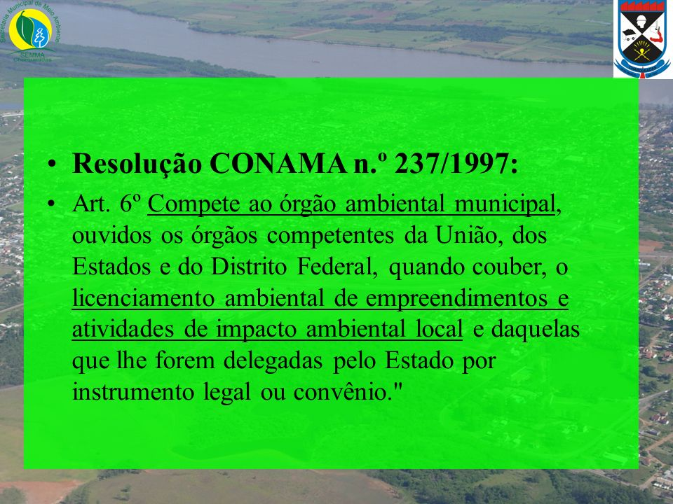 Resolução CONAMA n.º 237/1997:
