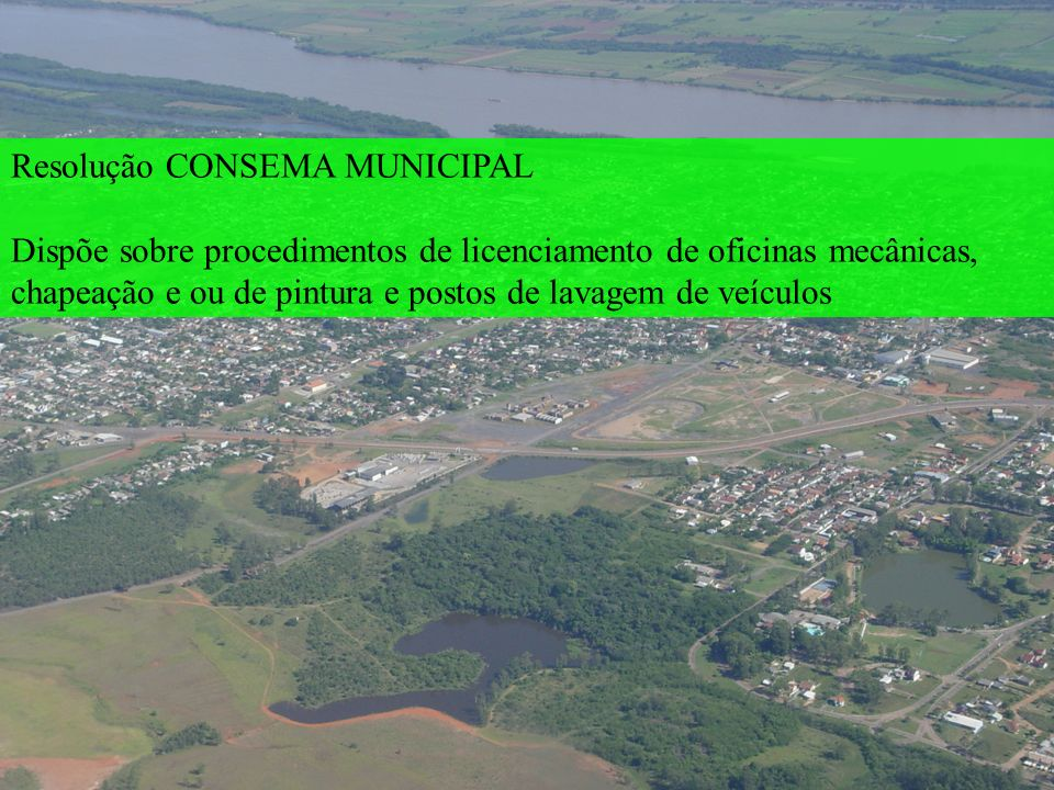 Resolução CONSEMA MUNICIPAL