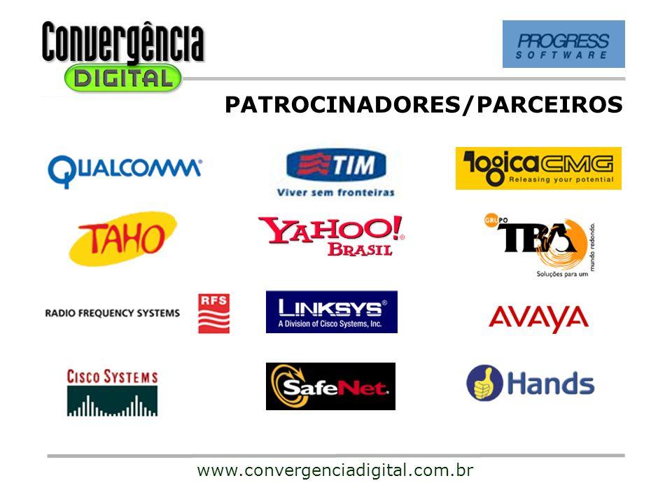 PATROCINADORES/PARCEIROS