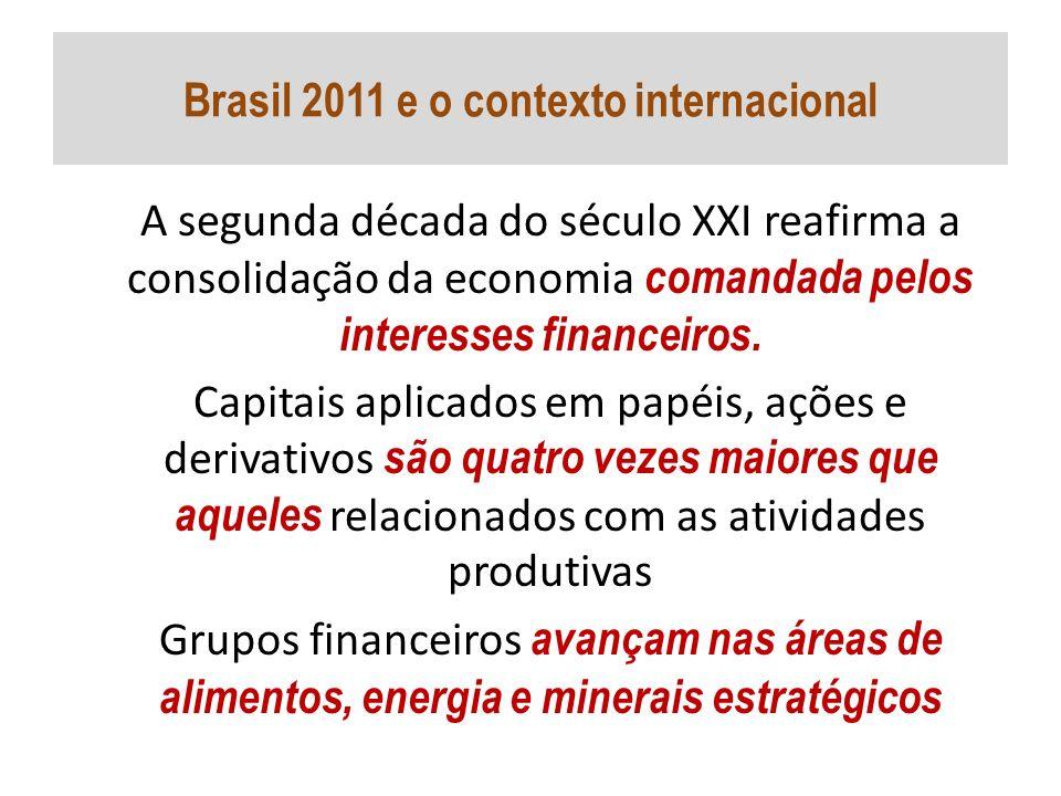 Brasil 2011 e o contexto internacional