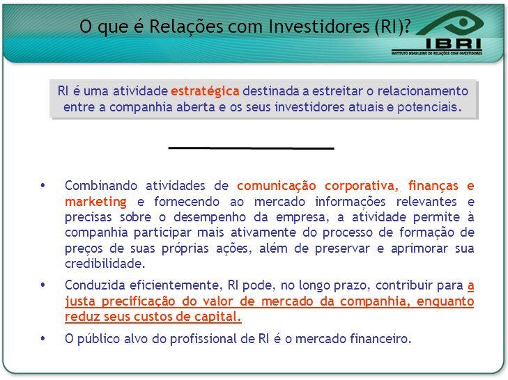 O que é Relações com Investidores (RI)