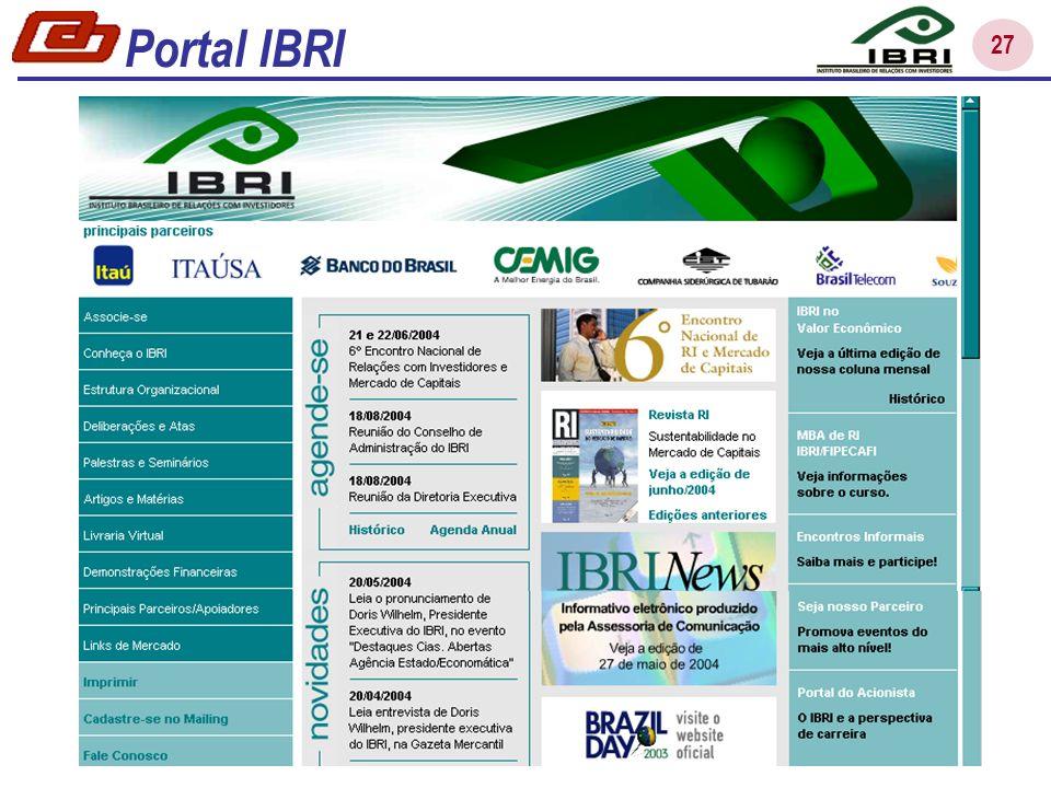 Portal IBRI