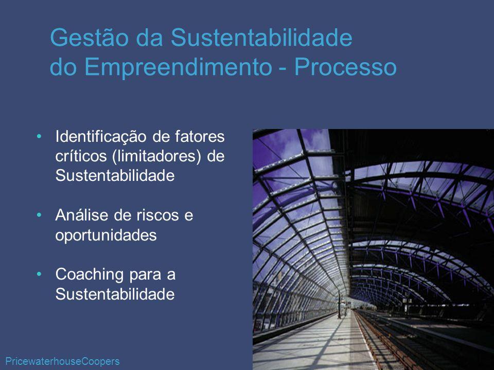 Gestão da Sustentabilidade do Empreendimento - Processo