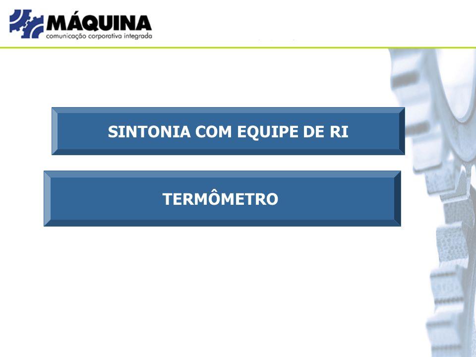 SINTONIA COM EQUIPE DE RI