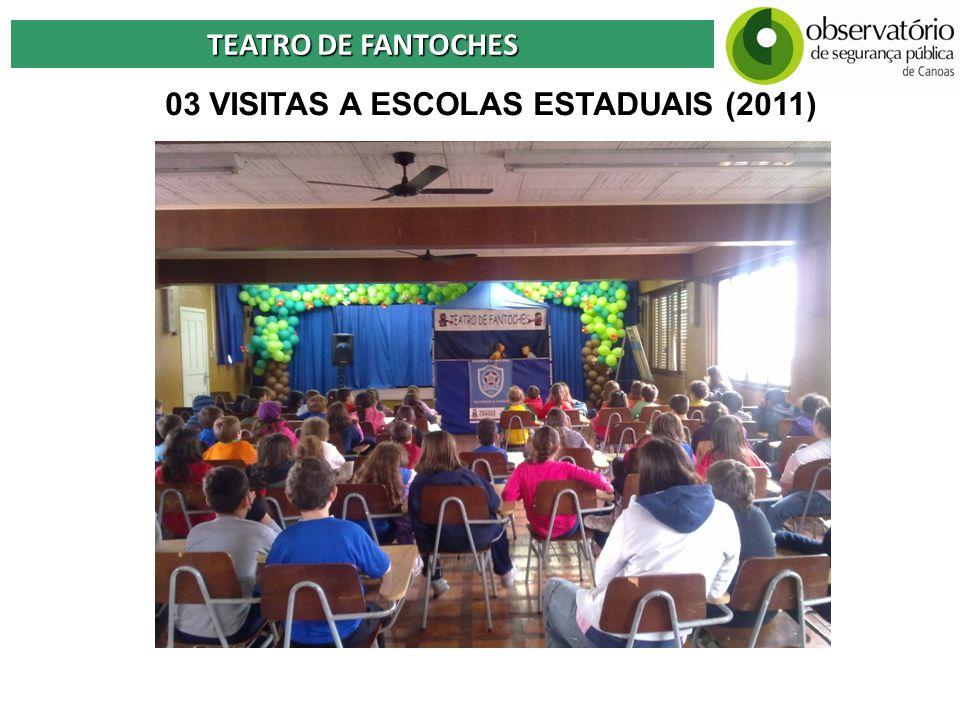 03 VISITAS A ESCOLAS ESTADUAIS (2011)