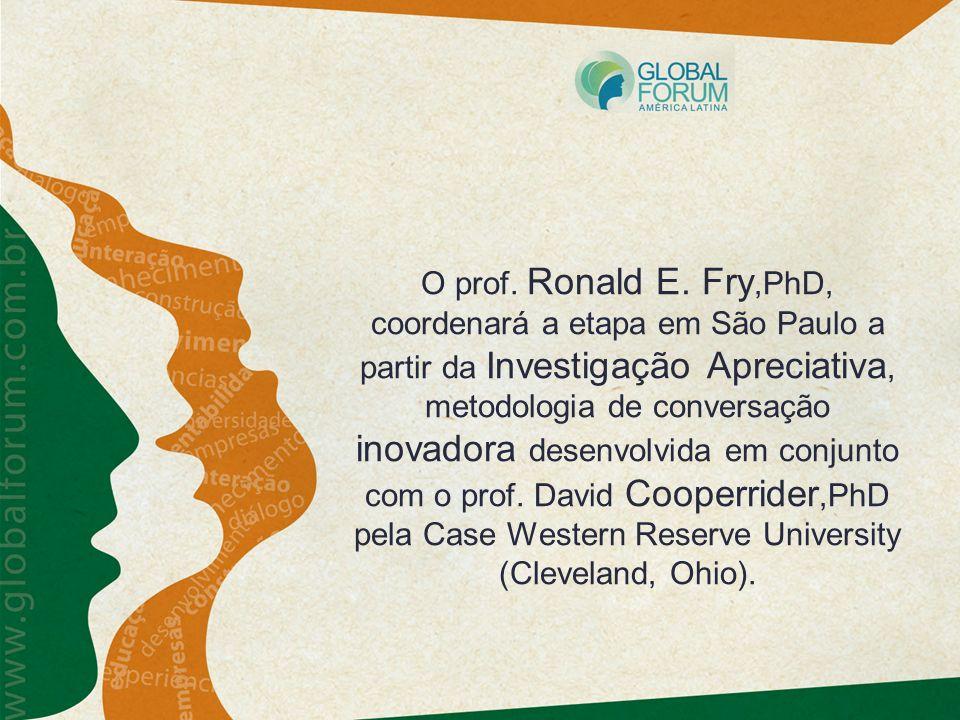 O prof. Ronald E.