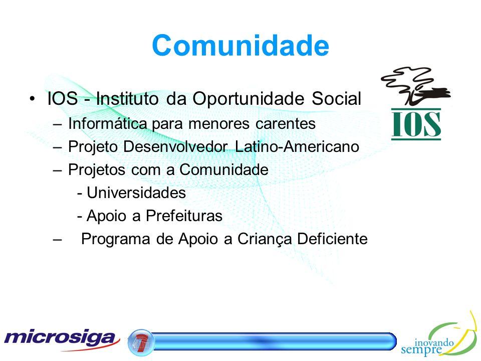 Comunidade IOS - Instituto da Oportunidade Social
