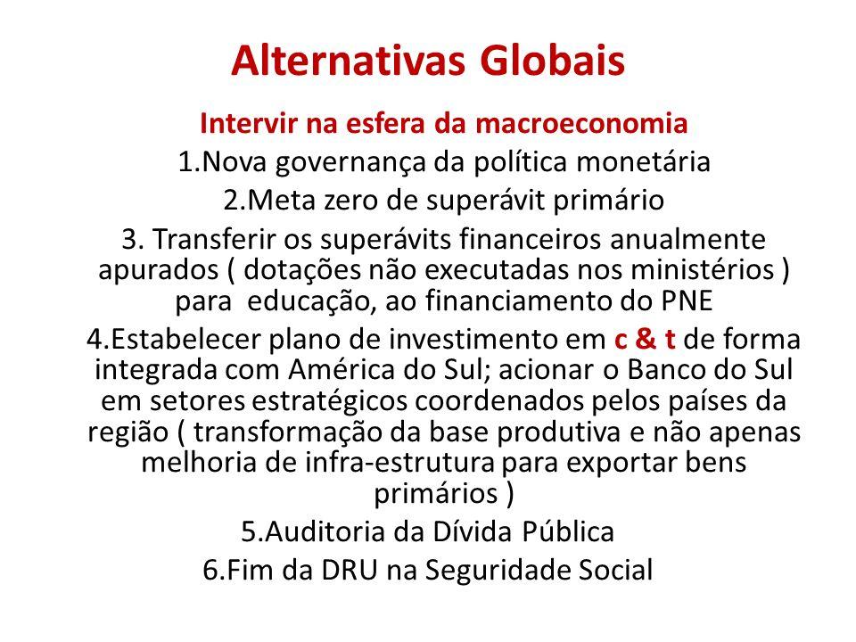 Alternativas Globais