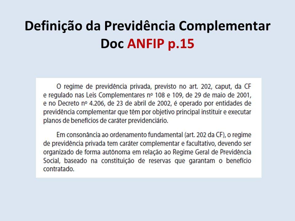 Definição da Previdência Complementar Doc ANFIP p.15