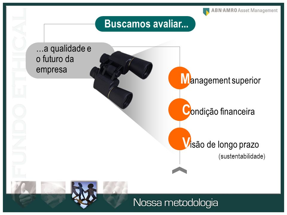 Management superior Condição financeira Visão de longo prazo